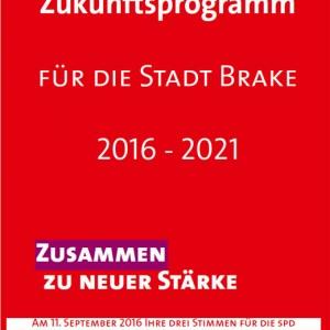 Zukunftsprogramm für die Stadt Brake 2016 - 2021